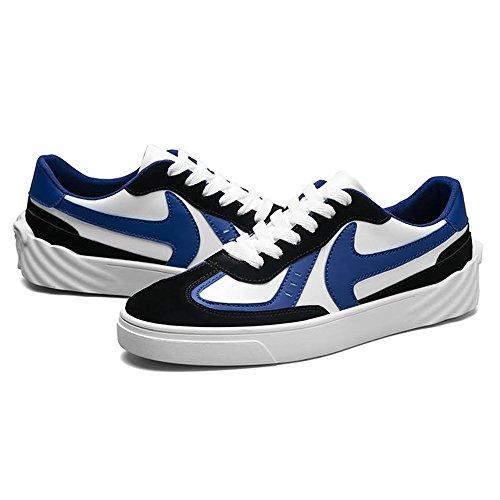 da Piatto da Tacco Stile con Blue Britannico Cricket Scarpe Sneaker Uomo dgwqYd