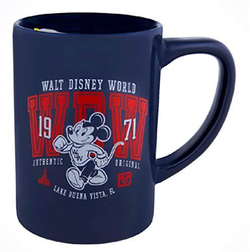 (Disney Walt Disney World 71 Collegiate Mickey Mouse Coffee Cup Mug)