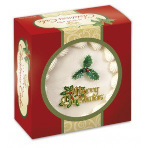 Top Iced Christmas Cake by Norfolk Manor - 32oz - 907g Christmas Cakes
