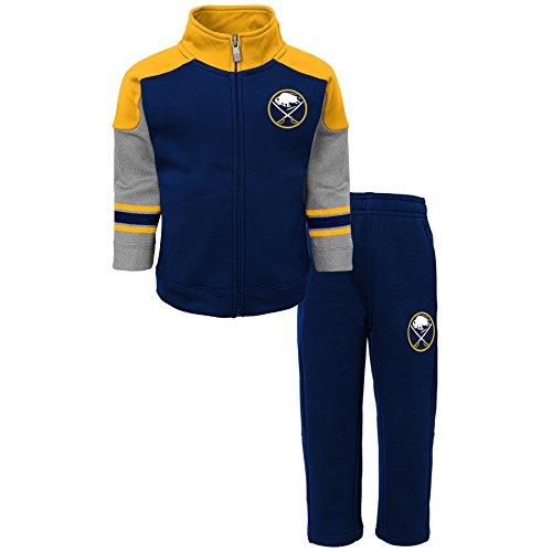 Outerstuff NHL Buffalo Sabres Children Boys Shutdown Jacket & Pant Set, 4T, True Navy ()