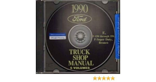 1990 ford pickup bronco van repair shop manual cd super duty f150 rh amazon com 2003 Ford Econoline Van 1996 Ford Econoline Conversion Van