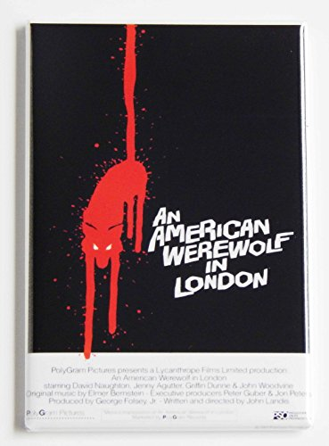 An American Werewolf in London Movie Poster Fridge Magnet (2 x 3 -