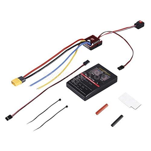 Set of Crawler Regler Brushed Motor for 1:10 1:8 RC Rock Crawler Accessories by uptogethertek