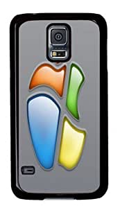 Apple And Windows Fusion Custom Samsung Galaxy S5/Samsung S5 Case Cover Polycarbonate Black