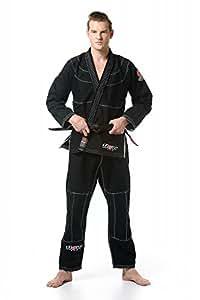 Flow Kimonos Pro Series BJJ Jiu Jitsu Gi (Black, A3H)