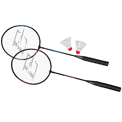 2 Player Badminton Racket Set