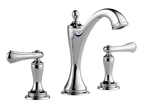 Brizo 65385LF-PCLHP Charlotte Two Handle Widespread Lavatory Faucet without Handles, Chrome (Brizo Charlotte Faucet compare prices)