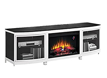 Amazon.com: ClassicFlame Gotham Infrared Electric Fireplace Media Console in Black - 26MM9313-D974: Kitchen & Dining