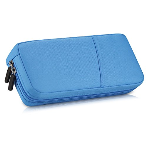 Nbboo Soft Waterproof Travel Case Bag For Nintendo Switch  Blue