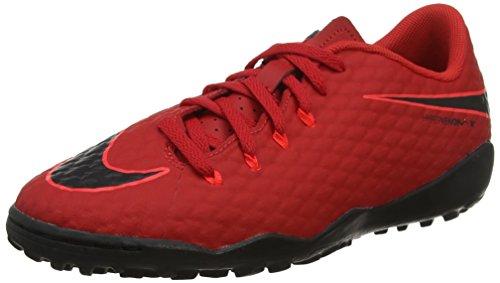 Jr Mixte TF Nike Football Rouge III de Phelon Rouge Noir Chaussures Hypervenomx Enfant 8SSWndgwq