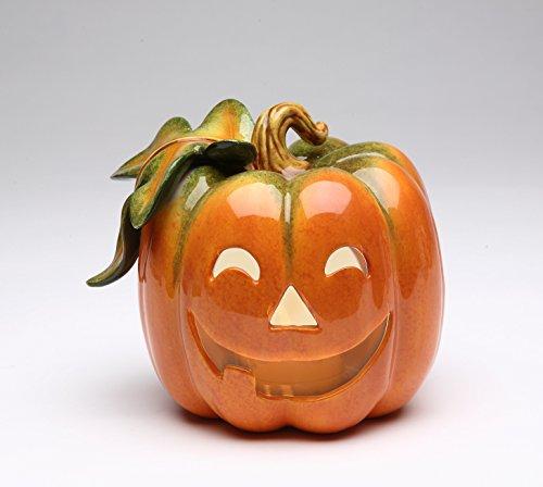 Cosmos 10362 Porcelain Pumpkin Holder