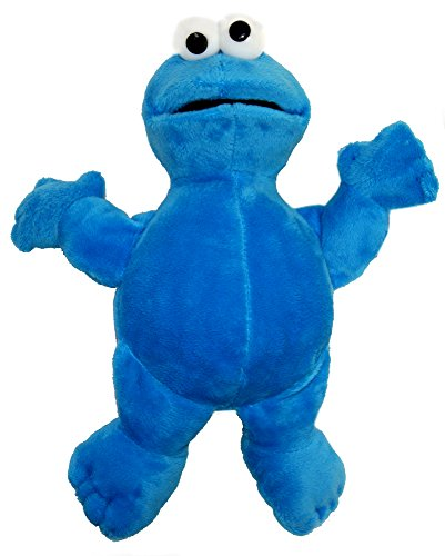Sesame Street Plush Toys : Elmo-Ernie-Bert-Cookie Monster,Official Licensed  (Cookie Monster)