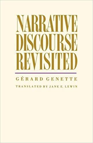 gerard genette narrative discourse an essay in method Additionally his work on narrative, best known in english through the selection narrative discourse: an essay in method, has been of importance[2] his major work is the multi-part figures series, of which narrative discourse is a section.