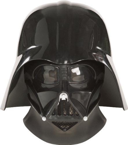 [WMU - Star Wars Super Deluxe Darth Vader Mask, Black, One Size] (Supreme Edition Darth Vader Costumes)
