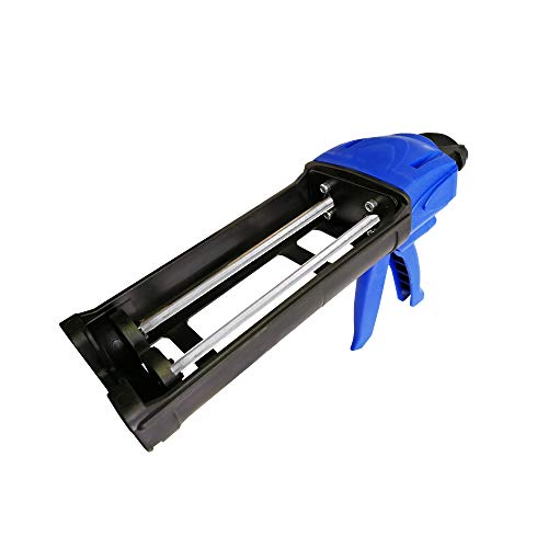 Epoxy Applicator 400ml 200x200 Cartridge 1:1 Mix Ratio High Thrust Heavy Duty Dual Component Adhesive Silicone Dispenser Gun