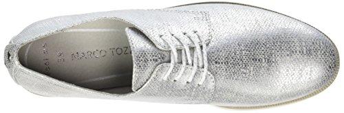 Femme Tozzi Richelieus Gris grey Lt 23202 Metal Marco dtq11