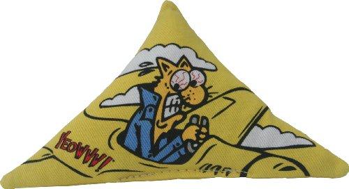 Ducky World Yeowww Catnip - Yeowww! Purrr!-Muda Triangle Yellow (Single)