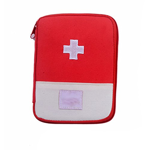 Home Outdoor Survival Portable First Aid Kit Bag Case (Medicine Cabinet Red Cross)