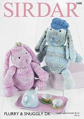 Sirdar Pattern 2489 Hedgehog Soft toys