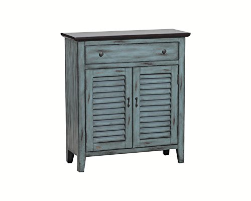 Powell 14A2046 2-Tone Shutter Door Cabinet (Drawer Powell Storage)