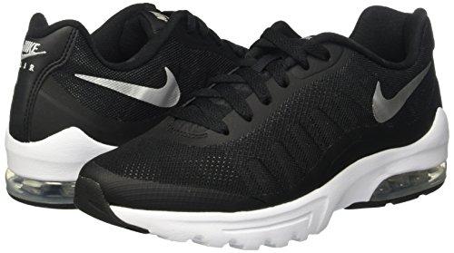 Mujer Negro Air white Para Deporte Silver Max Nike Invigor Wmns Metallic black Zapatillas De wf418xnT68
