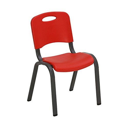 Lifetime Children's Stack Chair, Fire Red or Dragonfly Blue by Generic