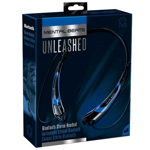 Amazon.com: Mental Beats 561 Mental Beats Bluetooth Unleashed Earbuds, Blue: Home Audio & Theater