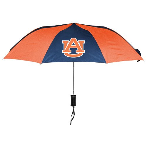 WinCraft NCAA Auburn University Auto Folding Umbrella, - Merchandise Auburn Tigers