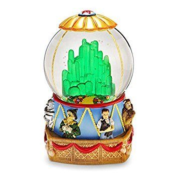 Wizard of Oz Hot Air Balloon Musical Water Globe by The San Francisco Music Box Company ()