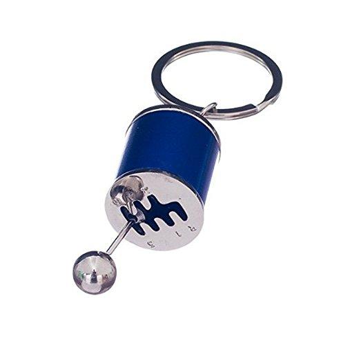 KEOIWDIE - Llavero con diseño de Palanca de Cambios, Azul ...