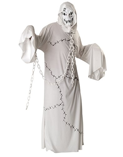 Rubie'sol Ghoul Costume, White, (Sexy Ghost Costumes)