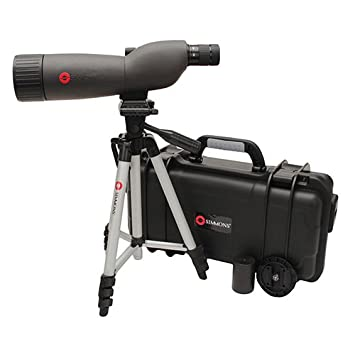 simmons telescope 6450. simmons prosport 20-60 x 60mm waterproof/fogproof spotting scope with tripod, grey telescope 6450
