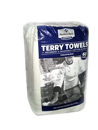 Amazon Com Members Mark Commercial Terry Towels 60 Towels By
