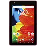 2017 Newest Premium High Performance RCA Voyager 7 16GB Touchscreen Tablet Computer Quad-Core 1.2Ghz Processor 1G Memory 16GB Hard Drive Webcam Wifi Bluetooth Android 6.0-Pink