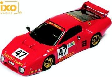 Ferrari BB512LM #47 C. Ballot Lena-J.C. Andruet Le Mans 1981 (Winner IMSA GTX) 1/43 Scale diecast Model by IXO