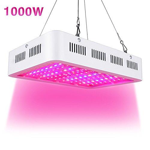 T8 Grow Light Fixture: LVJING 60W T8 LED Grow Tube 4 Feet, Indoor Plant Grow