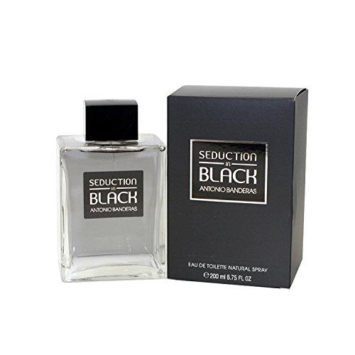 Seduction In Black By Antonio Banderas 6.8 oz Eau De Toilette Spray for Men