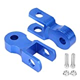 Suuonee Shock Absorber Riser,2PCs Motorcycle Rear Shock Absorber Riser 5cm Heightening Device Pad for Chassis(with Screw)
