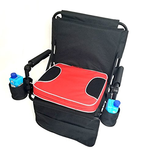 SAME DAY SHIPPING Oasis HEAVY DUTY Construction--w/ REMOVABLE CUSHION, CELL PHONE AND DRINK HOLDERS