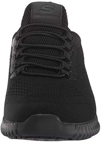 Skechers Work Relaxed Fit: Cessnock Sr Black Blk Mens Sneakers Size 8M