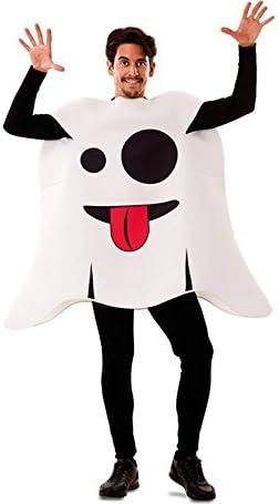 Disfraz de Emoticono Fantasma para adultos: Amazon.es: Juguetes y ...
