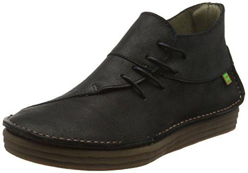 N01 Black Naturalista El Rice UK Black Pleasant Boots Field Women's 4 NF81 Chukka Black PnvTAZ4