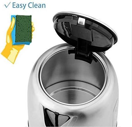 Pritech - Hervidor de agua compacto y ultra silencioso. Con 1630W ...