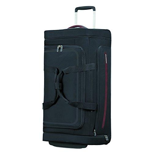American Tourister Airbeat - Wheeled Duffle Bag 76/28 Travel Duffle, 76 cm, 86 liters, Black (Universe Black) ()