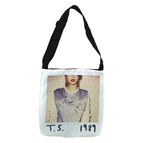 Taylor Swift 1989 Album Cover Tote Bag