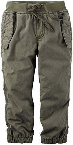 Carter's Baby Boys Woven Pant 224g261, Olive, 9M