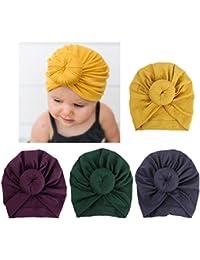 BQUBO Newborn Hospital Hat Infant Baby Knit Hat Cap with...