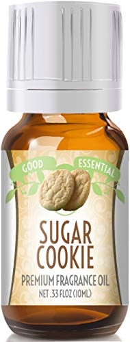 Sugar Cookies Scented Oil by Good Essential (Premium Grade Fragrance Oil) - Perfect for Aromatherapy, Soaps, Candles, Slime, Lotions, and More!