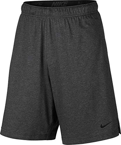 Nike Men's Training Short Charcoal Heather/Black Size Large