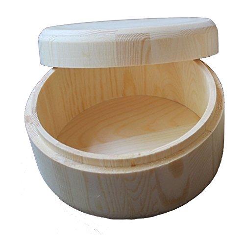 StarMall Wooden Round Box